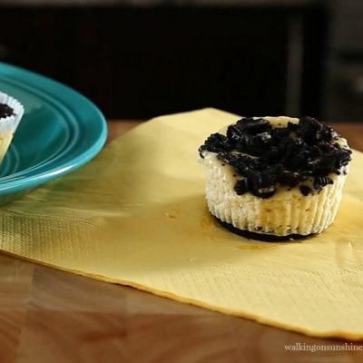 Mini Oreo Cheesecakes featured photo from Walking on Sunshine Recipes