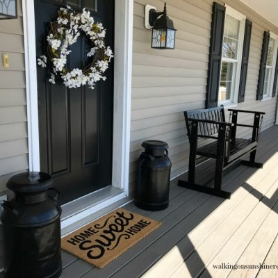 Tips:  How to Get your Front Porch Ready for Spring