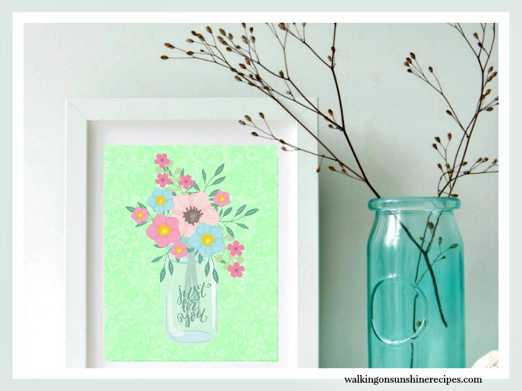Free Spring Printable from Walking on Sunshine Recipes