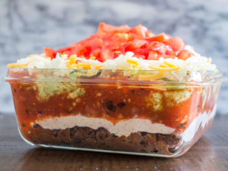 7 Layer Taco Dip from The Kittchen