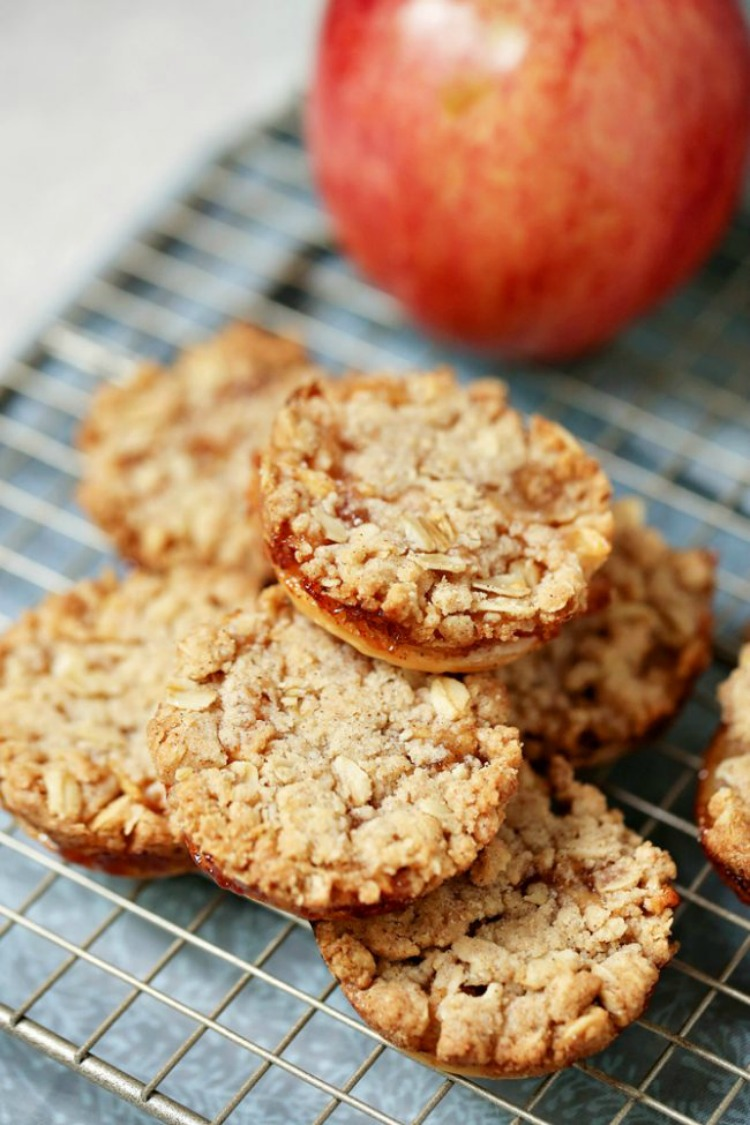 Apple Cobbler Cookies from A Mom's Take