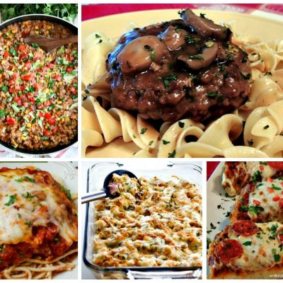 Weekly Meal Plan: Cheap Family Dinner Ideas