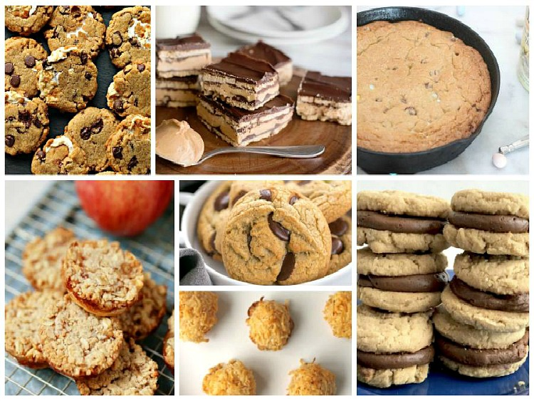 Cookies and Bars from Walking on Sunshine Recipes