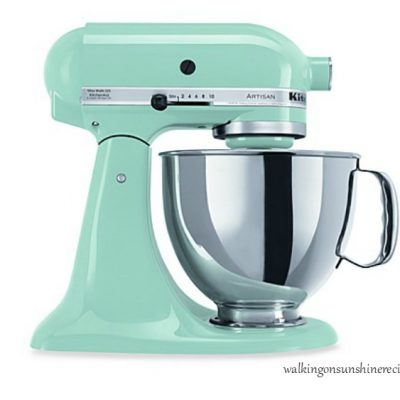 KitchenAid Mixer Giveaway – Celebrate 10 Years of Blogging with Me!