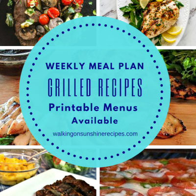 Weekly Meal Plan – Easy Grilled Recipes for Dinner