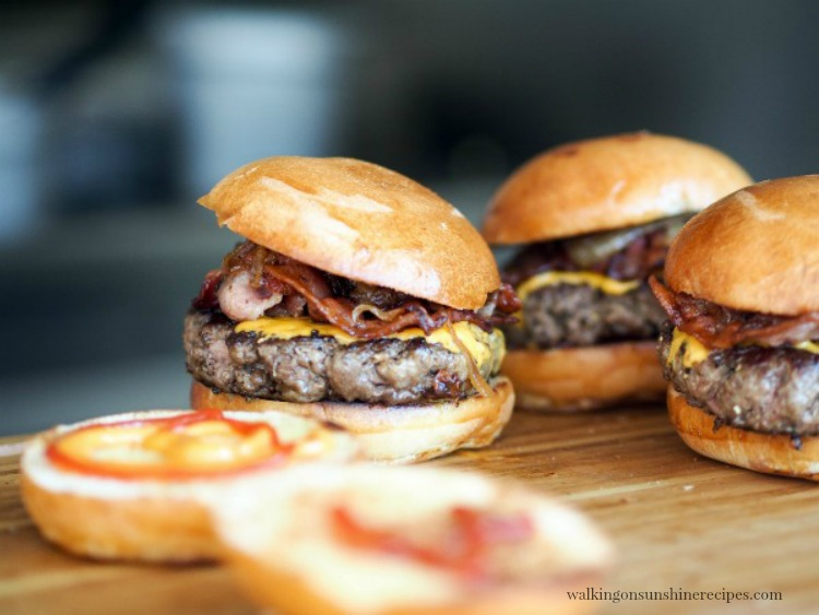 How to Grill the Best Hamburger from Walking on Sunshine Recipes