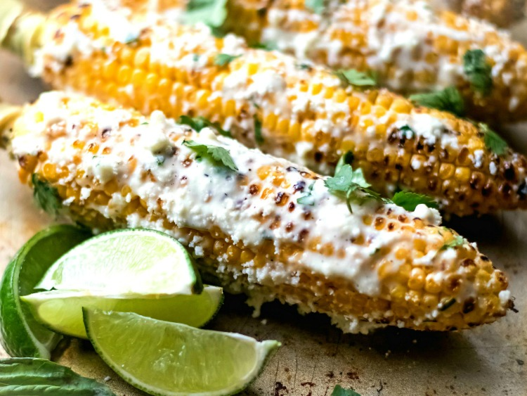 Mexican Street Corn from Bunny's Warm Oven