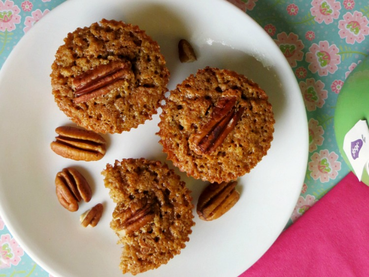 Pecan Pie Muffins from Joyful Homemaking