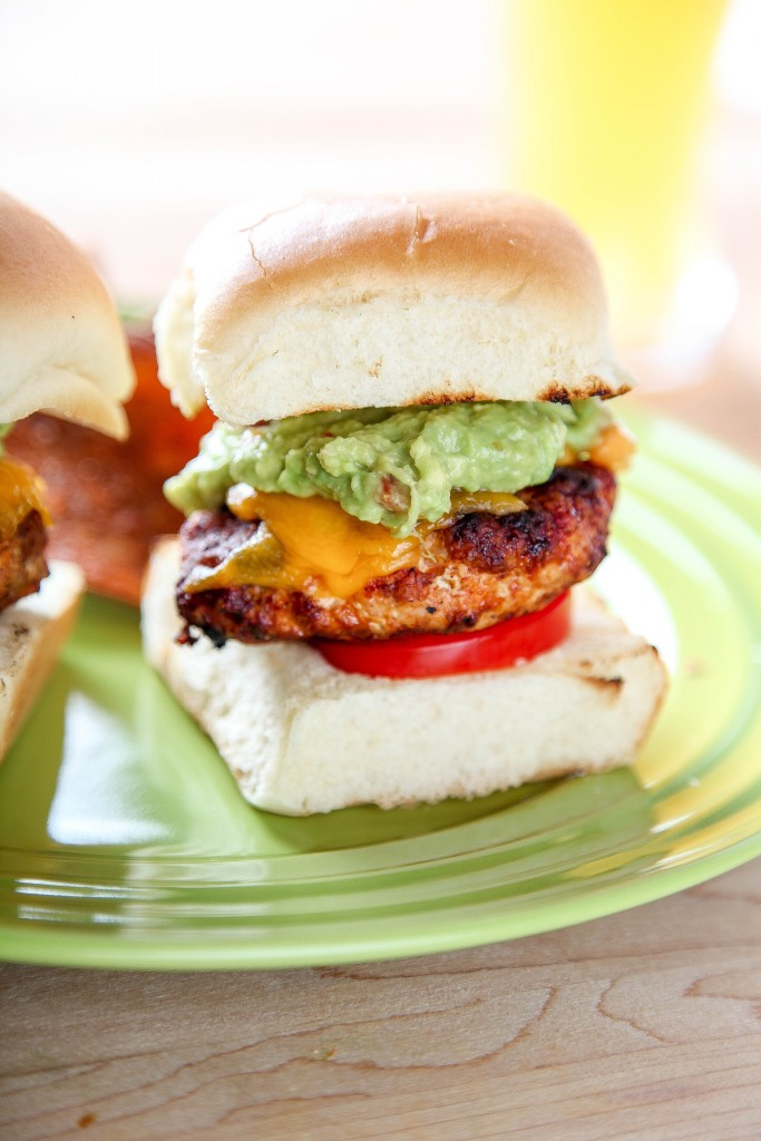 Turkey Chorizo Slider Burgers from Baking Beauty