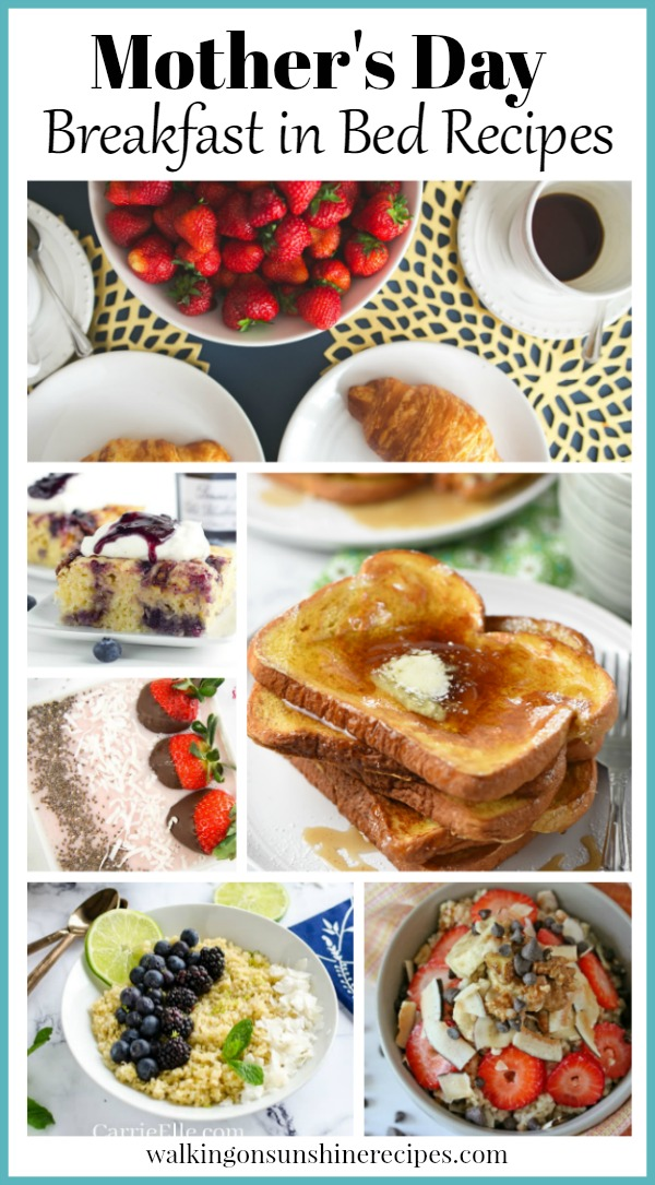 Mother's Day breakfast and brunch recipes
