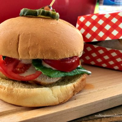 Grilled Chicken Sandwiches with Garlic Parmesan Mayonnaise