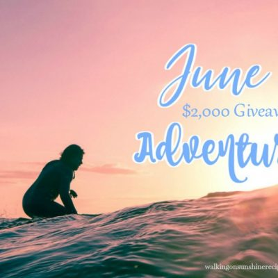 June Adventure Giveaway