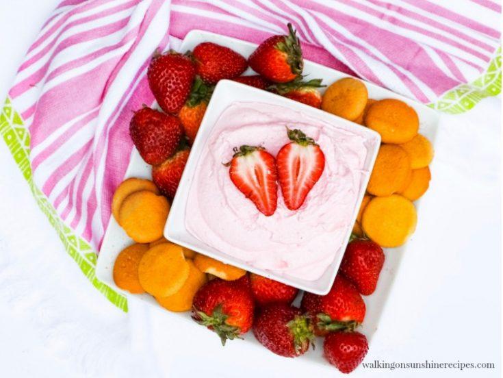 Easy Strawberry Fruit Dip