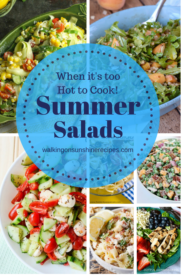 Delicious Summer Salads f