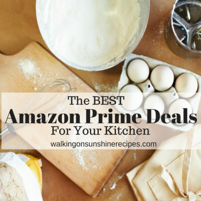 The BEST Amazon Prime Deals for the Kitchen