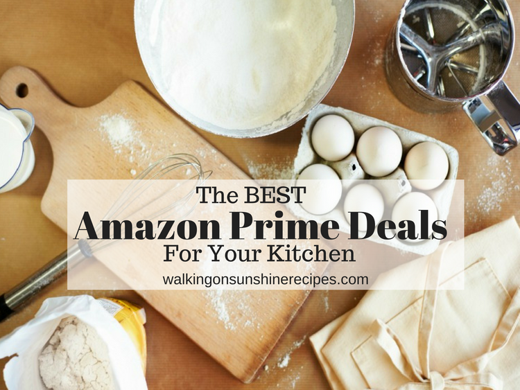 Here are my favorite Amazon Prime Day Kitchen Deals that I love to use every day to cook delicious meals for my family and friends.