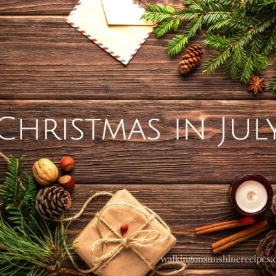 Celebrate Christmas in July with Easy Crafts and Gift Ideas