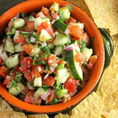 Cucumber Salsa from A Dish of Daily Life 2