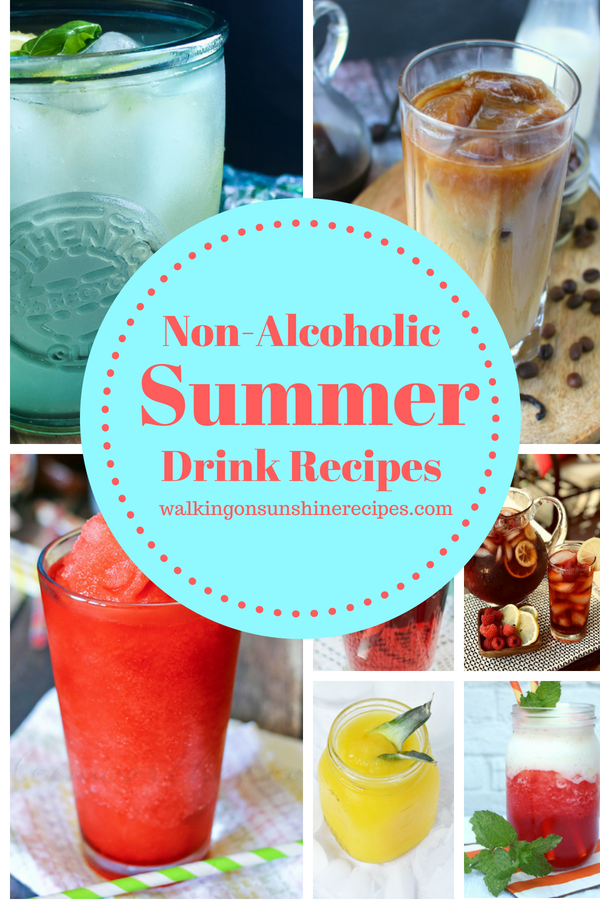 7 Non-Alcoholic Summer Drink Recipes.