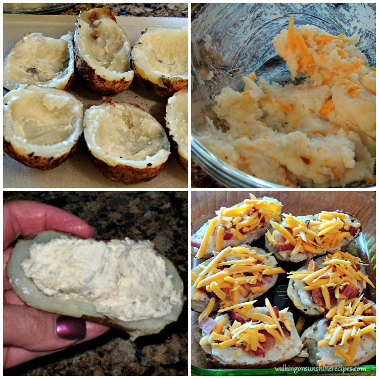 Twice Baked Potatoes process photos from WOS