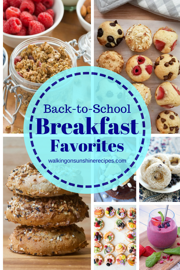 Back-to-School Breakfast Favorites
