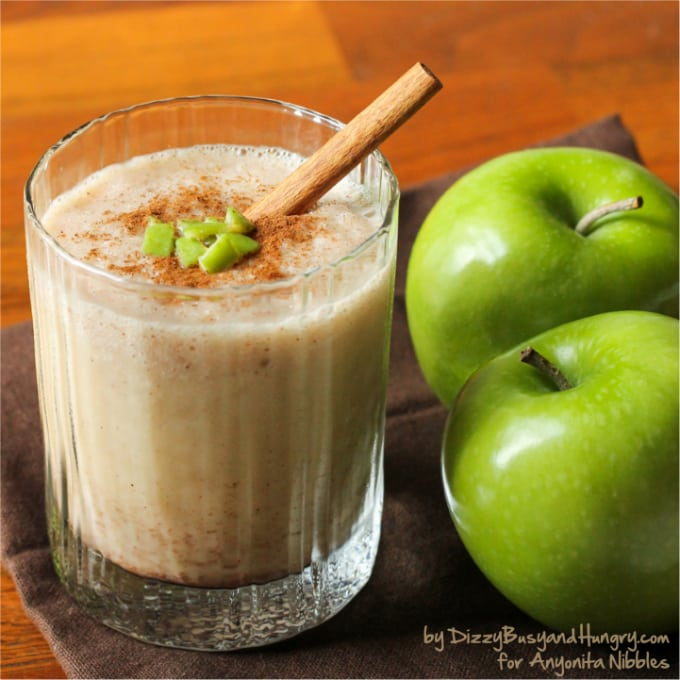 Apple Cider Smoothie from Dizzy Busy and Hungry