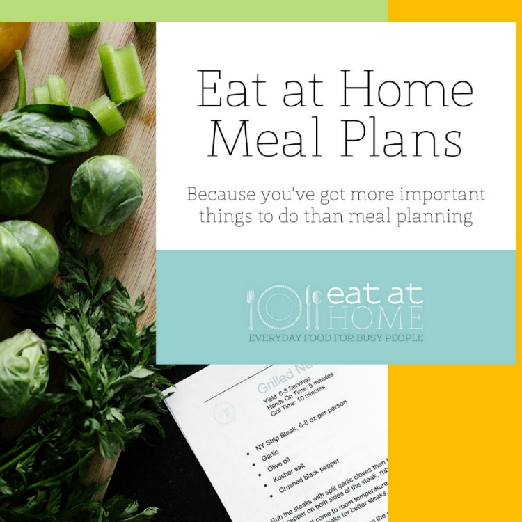Meal Plans with Grocery Lists