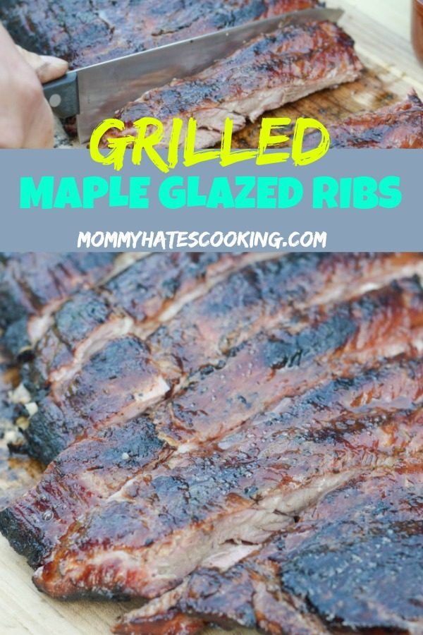 Maple Glazed Ribs from Mommy Hates Cooking