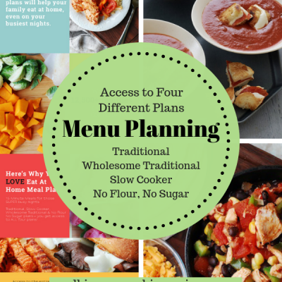 Eat at Home Menu Planning