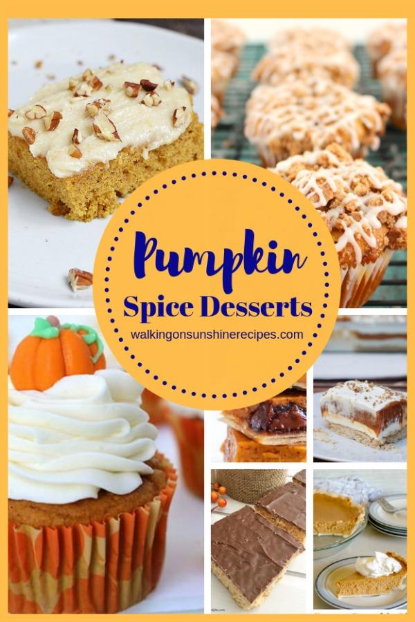 Pumpkin Spice Desserts