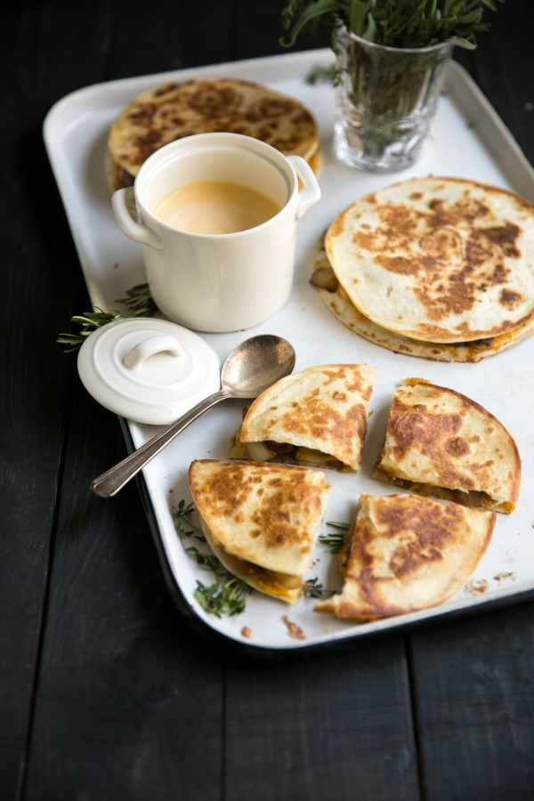 Quesadilla Recipe Ideas from Made in a Pinch