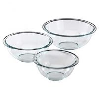 Pyrex Glass Mixing Bowl Set (3-Piece)