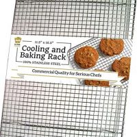 100% Stainless Steel Wire Cooling Rack for Baking