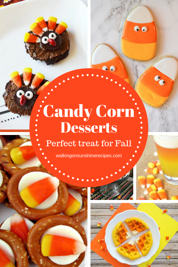 Candy Corn Desserts