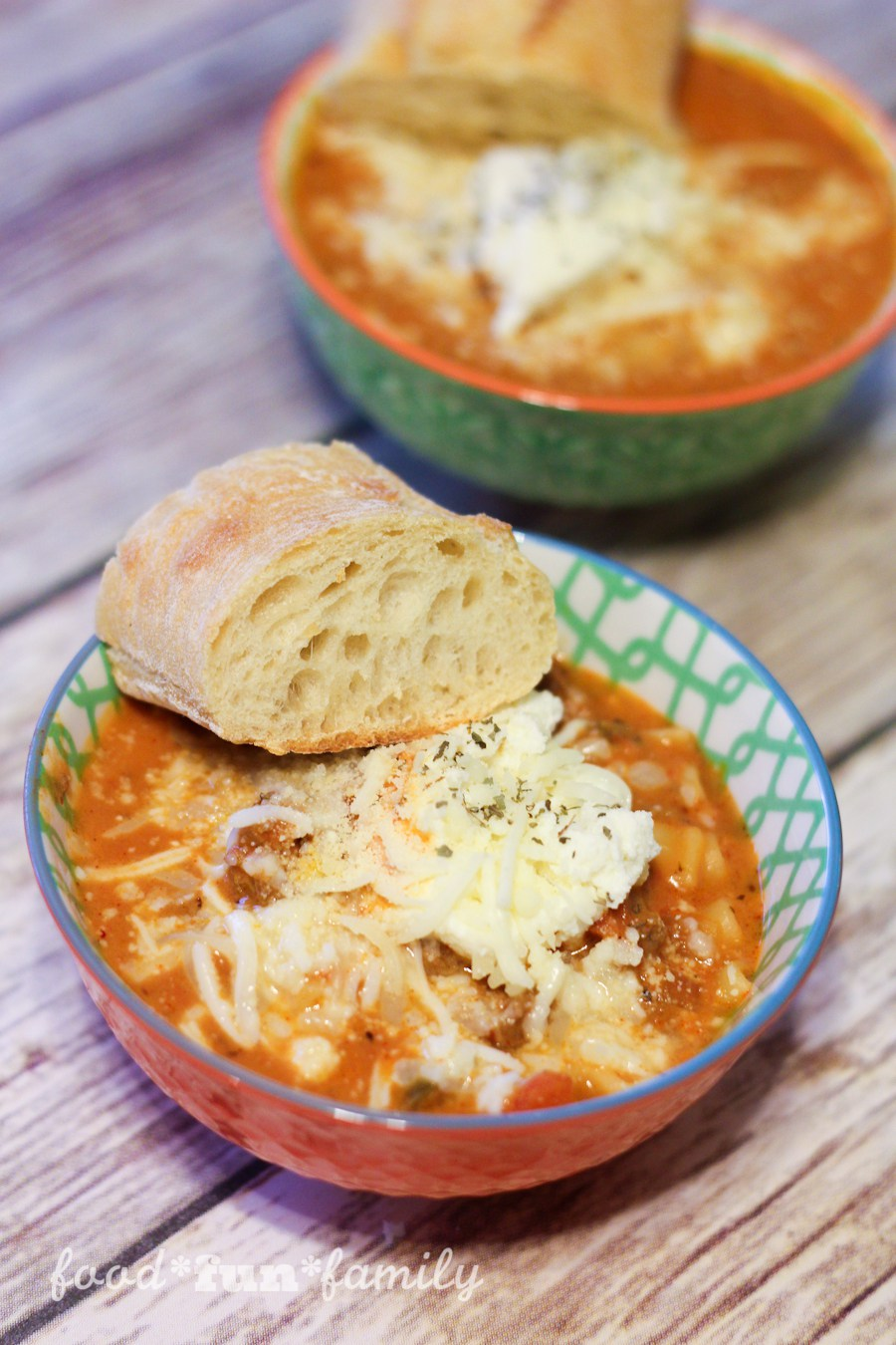 Easy Lasagna Soup from Food Fun Family