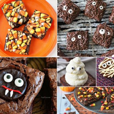 Cute Halloween Brownies
