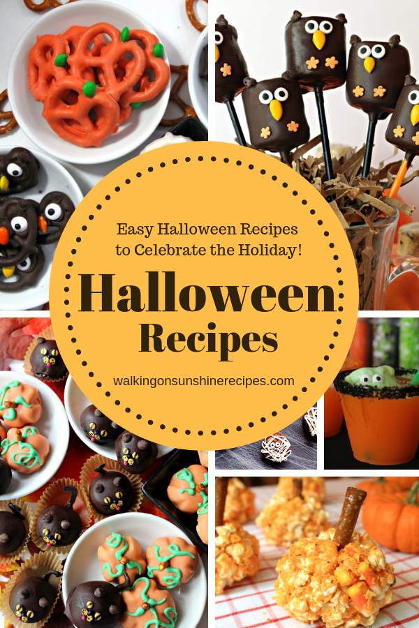 Easy Halloween Recipes are featured this week with our Delicious Dishes Recipe Party #138.