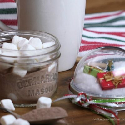 Mason Jar Hot Chocolate