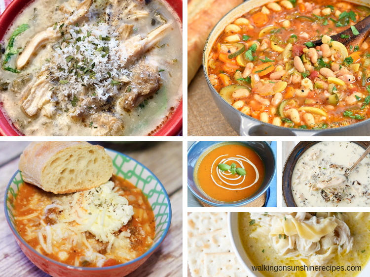 soup recipes perfect for dinner.