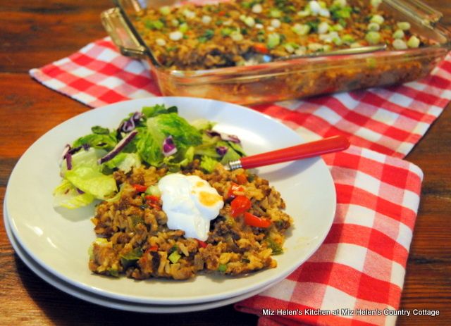 Southern Natchitoches Cajun Casserole from Miz Helen's Country Cottage