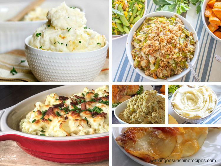 Best Thanksgiving Side Dishes are featured this week with our Delicious Dishes Recipe Party.