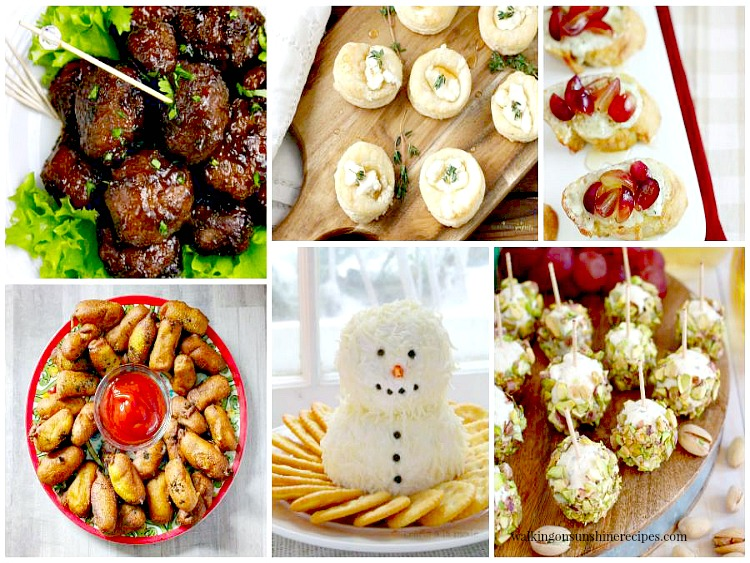 Holiday Party Food Appetizers are featured this week with Delicious Dishes Recipe Party.