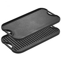 Cast Iron Grill and Griddle Combo