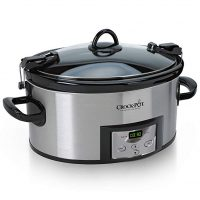 Slow Cooker with Digital Timer