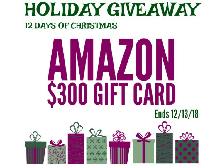 DAY #1 - $300 Amazon Gift Card CLOSED