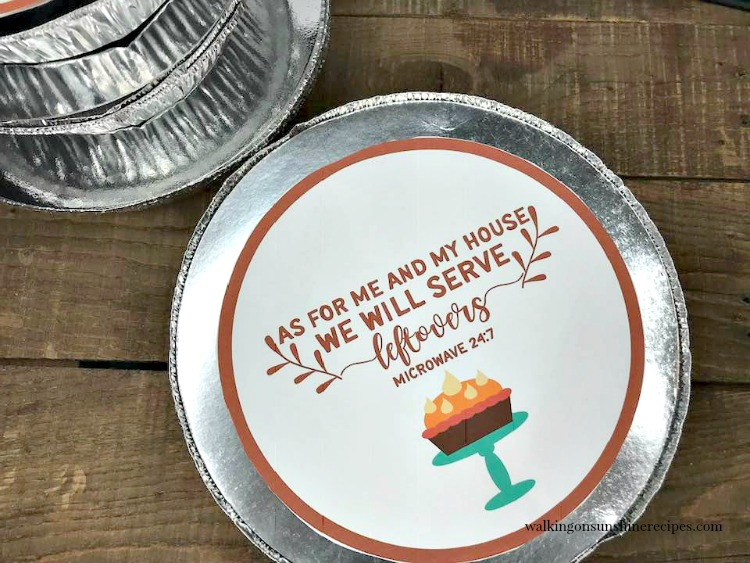 As for me and my house we will serve leftovers printable.