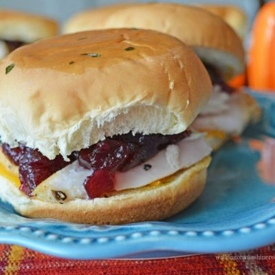 Leftover Turkey Slider Sandwiches