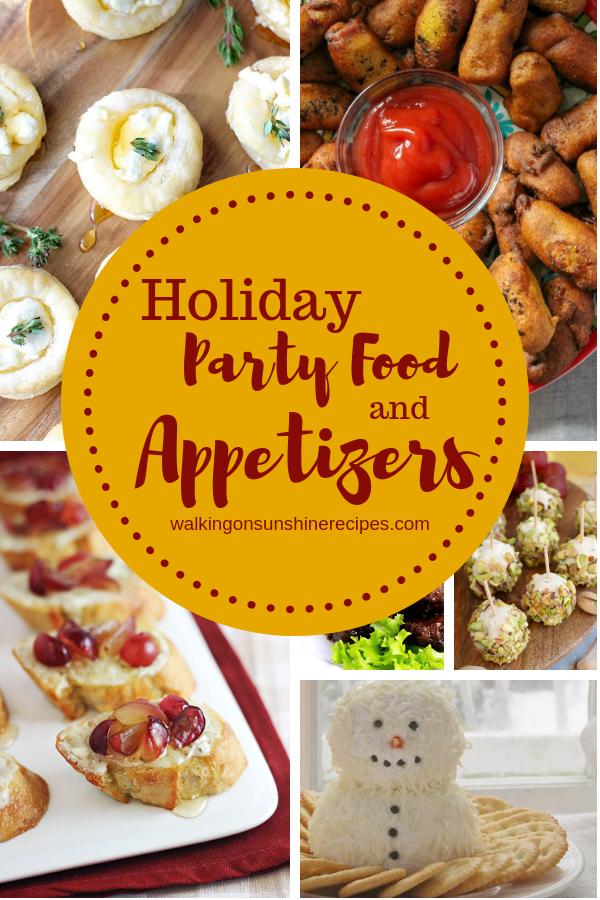 Holiday Party Food and Appetizers