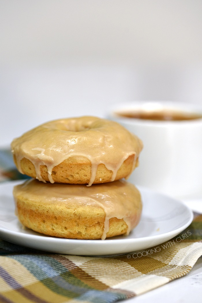 Maple Glazed Donuts from Cooking with Curls