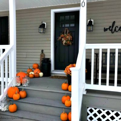 Tips for Creating a Welcoming Front Porch for Thanksgiving